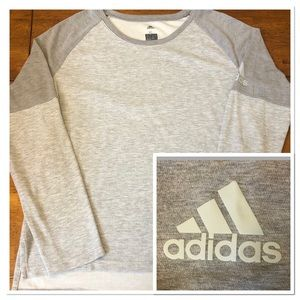 Adidas Climalite Thermal Color Block L/S Tee